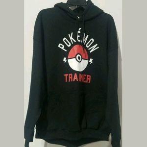 Pokemon Hoodie Sweatshirt Pullover Size XL